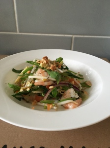 Laura of London Delicious Vietnamese Prawn Salad Laura Nana