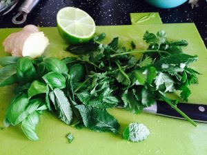 Herbs needed for Oriental Chicken Salad Laura of London