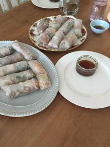 Vietnamese Prawn Rolls Laura of London